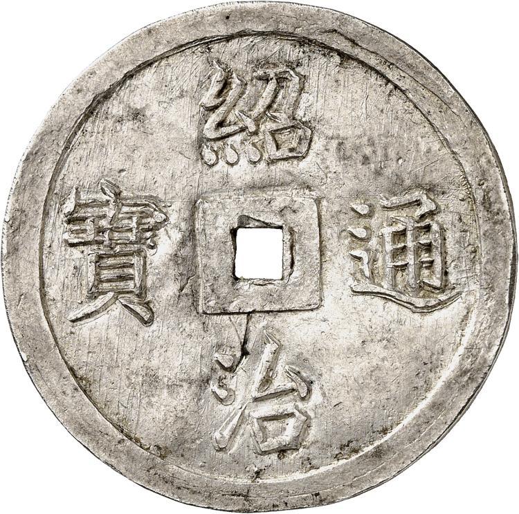 VIETNAM Annam, Thieu Tri (1841-1847). 4 Tien.