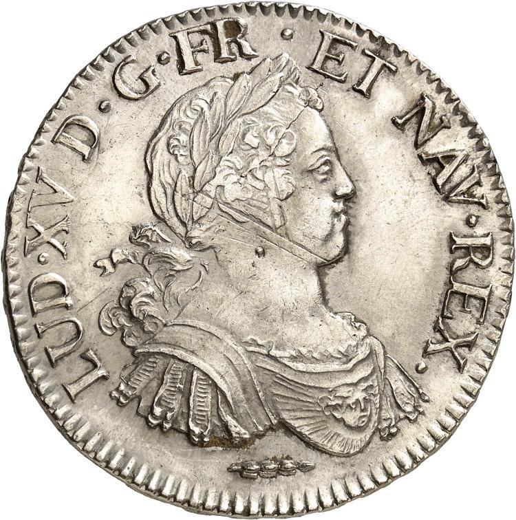 FRANCE Louis XV (1715-1774). Écu aux 8 L 1725, Amiens.