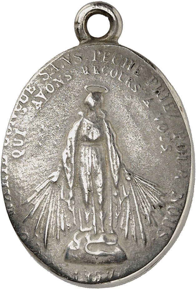 MONACO Honoré V (1819-1841). Médaille en argent 1837.