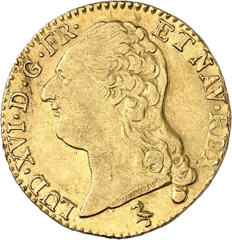 FRANCE Louis XVI (1774-1792). Louis d'or 1787, Paris.