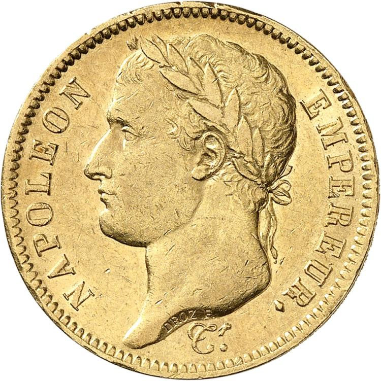 FRANCE Premier Empire (1804-1814). 40 francs or 1812, Paris.