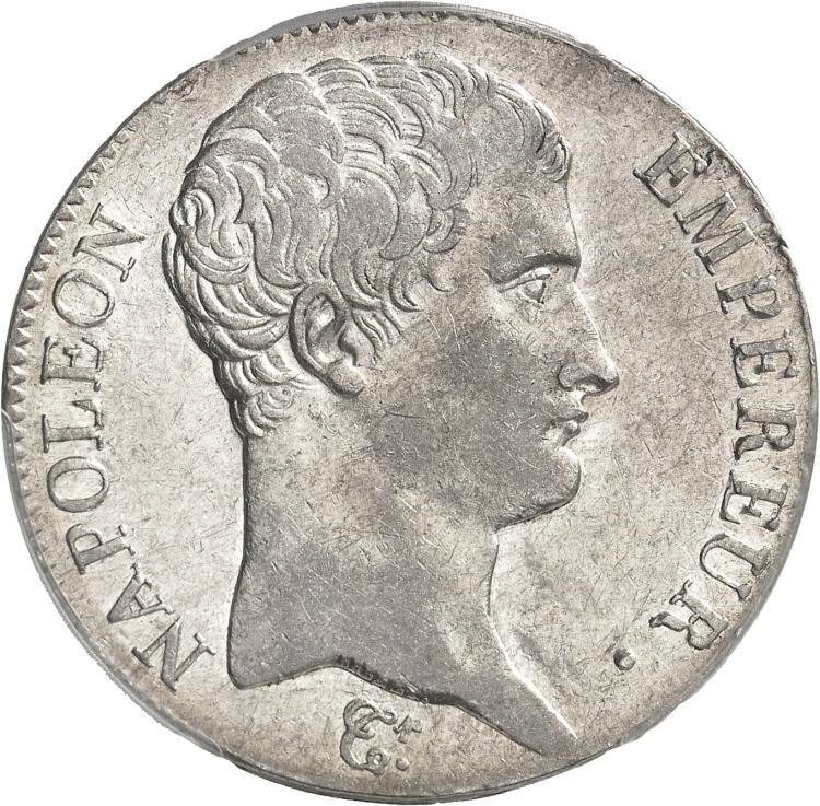FRANCE Premier Empire (1804-1814). 5 francs An 14, Turin.