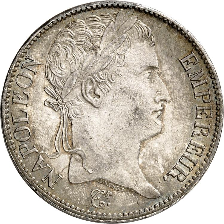 FRANCE Premier Empire (1808-1814). 5 francs 1812, Bayonne.