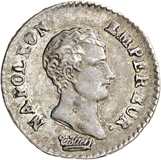 FRANCE Premier Empire (1804-1814). Quart de franc An 13, Marseille.