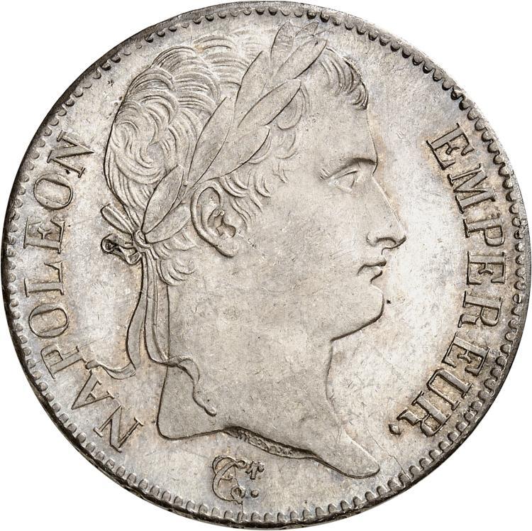 FRANCE Napoléon Ier, Cent-Jours (20 mars 1815-22 juin 1815). 5 francs 1815, Paris.