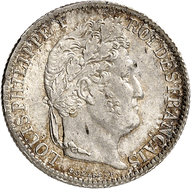 FRANCE Louis Philippe (1830-1848). 50 centimes 1847, Bordeaux.