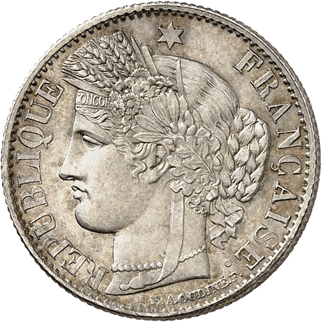 FRANCE II° République (1848-1852). 50 centimes 1849, Paris.