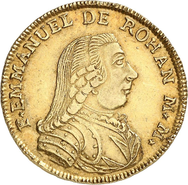 MALTE Emmanuel de Rohan (1775-1797). 20 scudi 1781, Valletta.