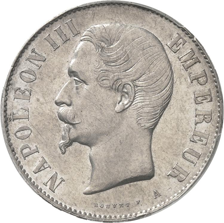 FRANCE Napoléon III (1852-1870). 5 francs 1854, Paris.