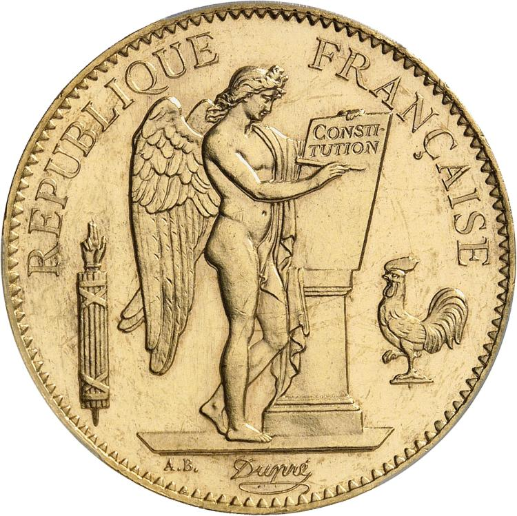 FRANCE IIIème République (1870-1940). 100 francs 1894, Paris.
