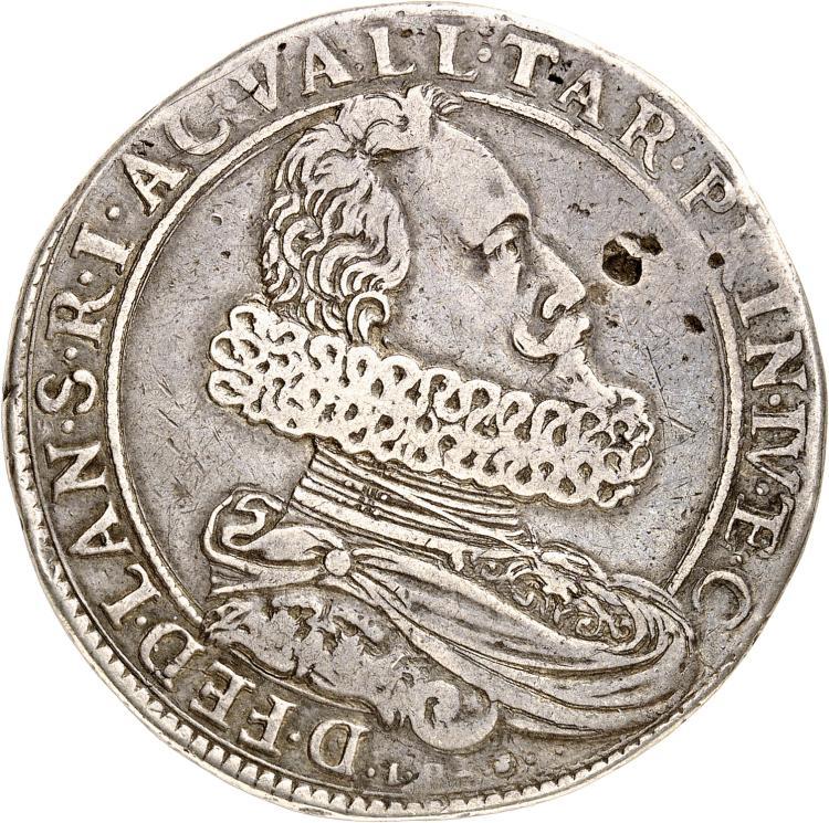 MONACO Compiano, Federico Landi (1590-1627). Oncle et tuteur d'Honoré II. Ducatone.