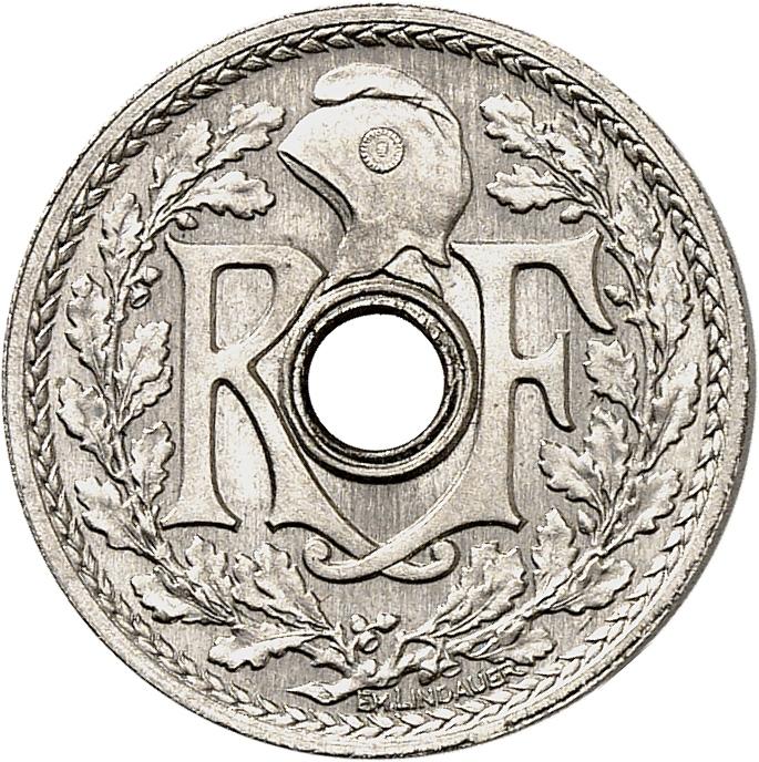 FRANCE IIIème République (1871-1940). 5 centimes 1914, essai.
