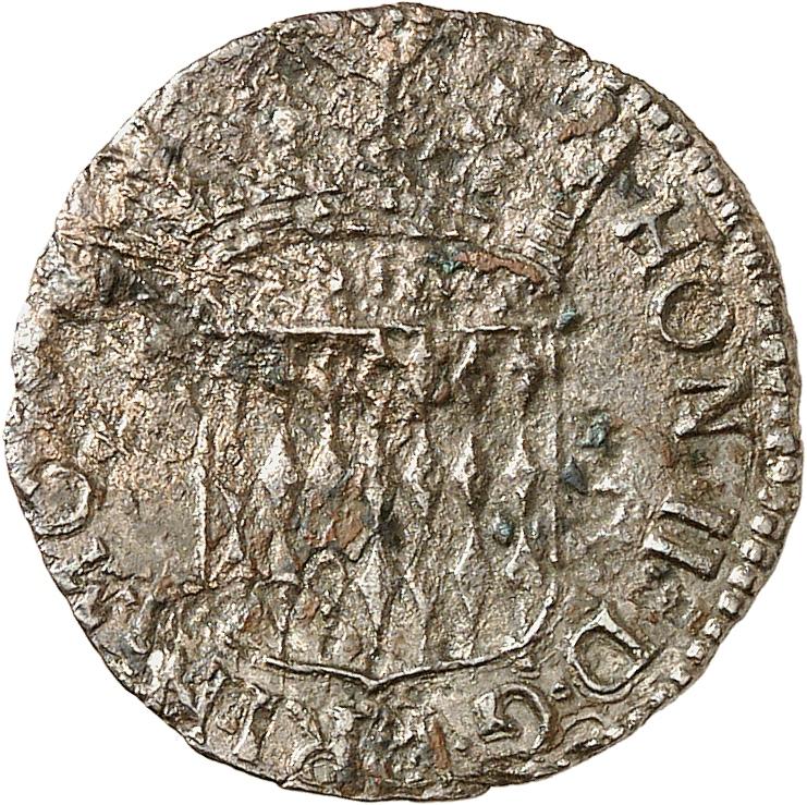 MONACO Honoré II (1604-1662). Sixième de Pezzetta 1648.
