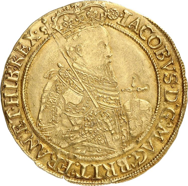 GRANDE-BRETAGNE Jacques Ier (1603-1625). Unite.