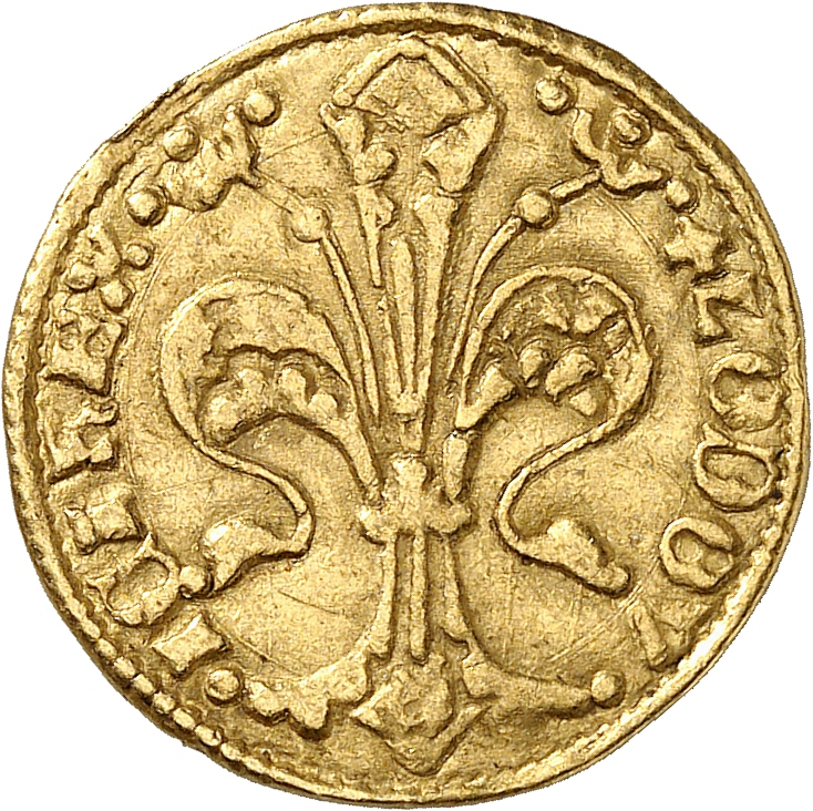 HONGRIE Louis Ier (1342-1382). Florin, Buda.