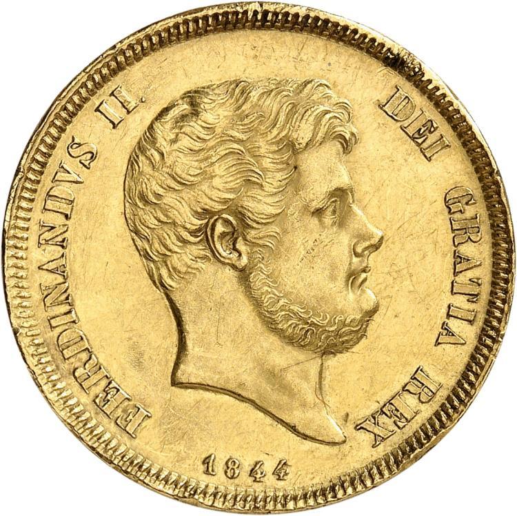 ITALIE Naples, Ferdinand II (1830-1859). 15 ducats 1844.