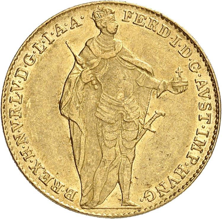 HONGRIE Ferdinand V (1835-1848). Ducat 1841, Kremnitz.