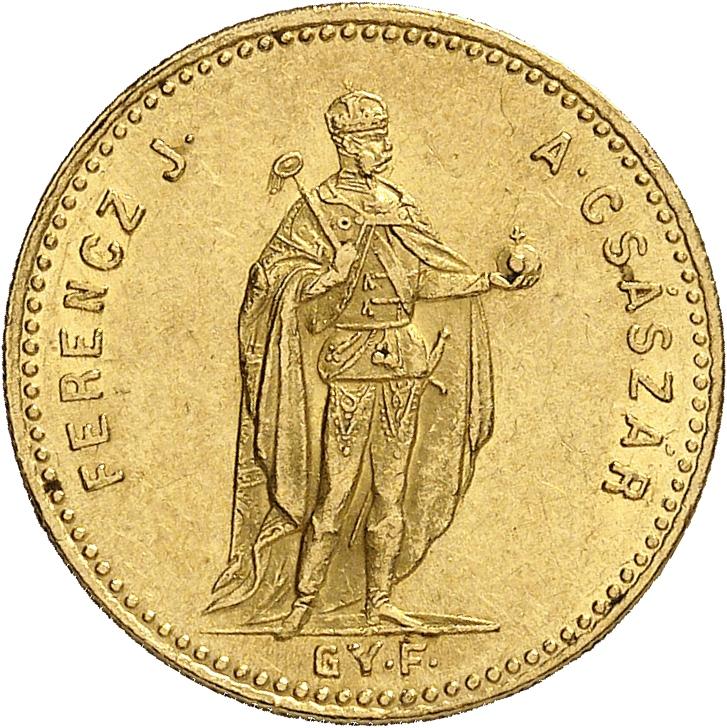 HONGRIE Francois Joseph Ier (1848-1916). Ducat 1869, Kremnitz.