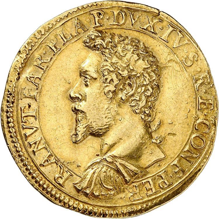 ITALIE Piacenza, Ranuccio Ier Farnese (1592-1622). 2 doppie 1604.