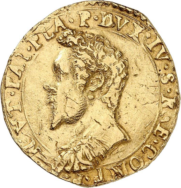 ITALIE Piacenza, Ranuccio Ier Farnese (1592-1622). 2 doppie 1615.