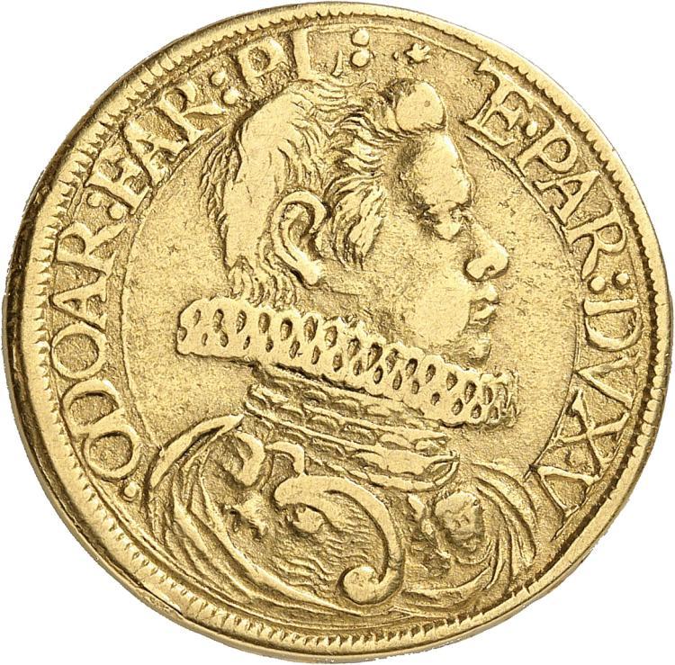 ITALIE Piancenza, Odoardo (1622-1646). 2 doppie 1631.