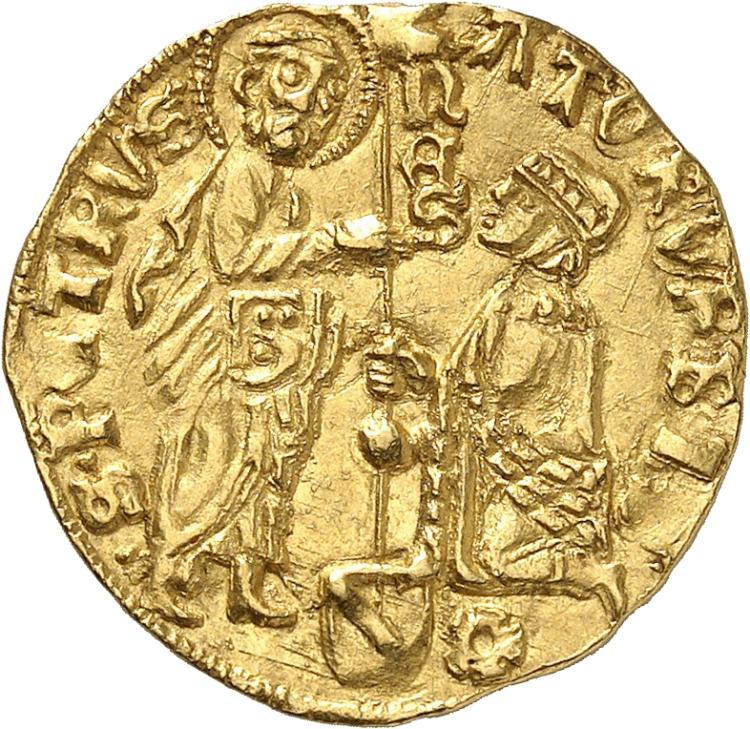 ITALIE Sénat romain (1350-1439). Ducat.