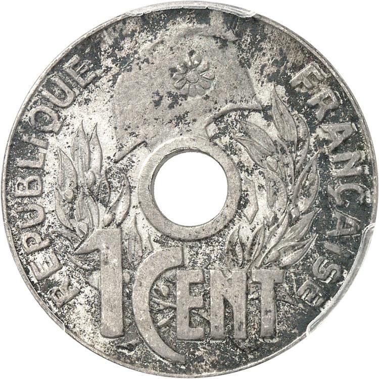 INDOCHINE Cent 1941 en argent, Hanoi, monnaie d'hommage par René Mercier.