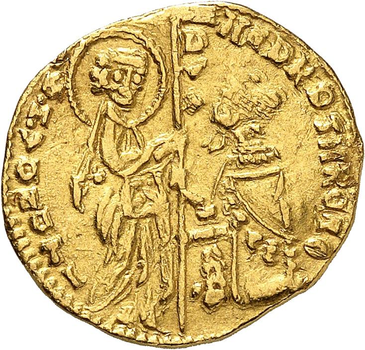 ITALIE Venise, Andréa Contarini (1368-1382). Sequin.