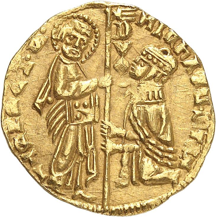 ITALIE Venise, Michele Steno (1400-1413). Sequin.