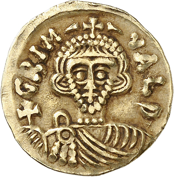 ITALIE Lombardie, Bénevent, Grimoald III et Charlemagne (788-806). Tremissis.