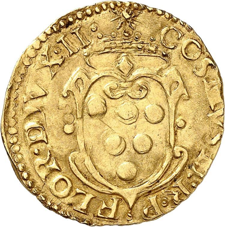 ITALIE Florence, Cosme Ier de Médicis (1536-1574). Écu d'or.