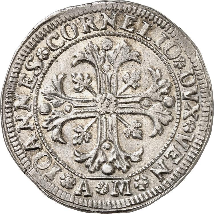 ITALIE Venise, Pietro Grimani (1709-1722). Scudo « della croce ».