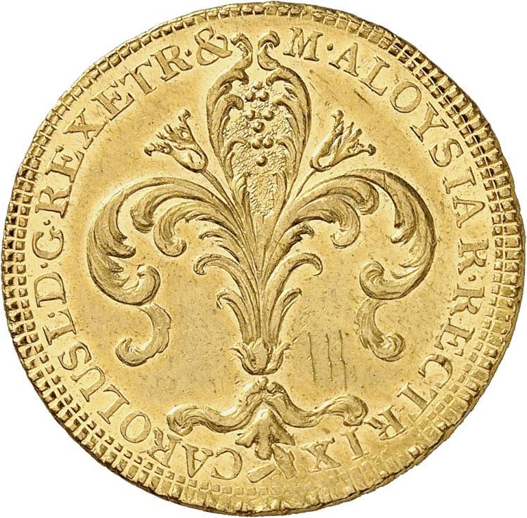 ITALIE Florence, Charles Louis de Bourbon (1803-1807). Ruspone 1807.