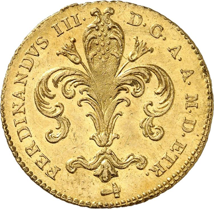 ITALIE Florence, Ferdinand III (1814-1824). Ruspone 1815.