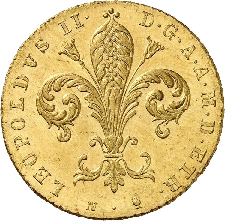ITALIE Florence, Leopold II (1824-1859). Ruspone 1836.