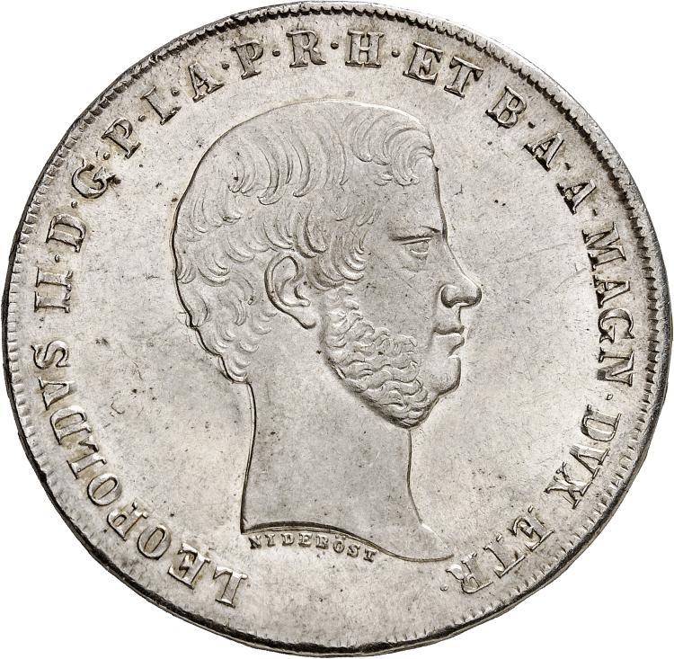 ITALIE Florence, Léopold II (1824-1859). Francescone 1856.