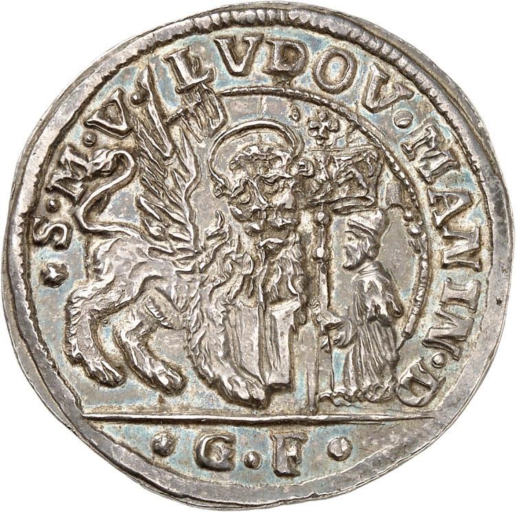 ITALIE Venise, Ludovic Manin (1789-1797). Quart de ducat de 31 soldi.