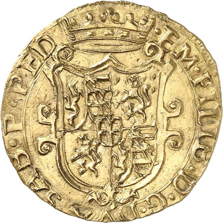 ITALIE Savoie, Emmanuel-Philibert (1559-1580). Écu d'or 1566, Chambéry.