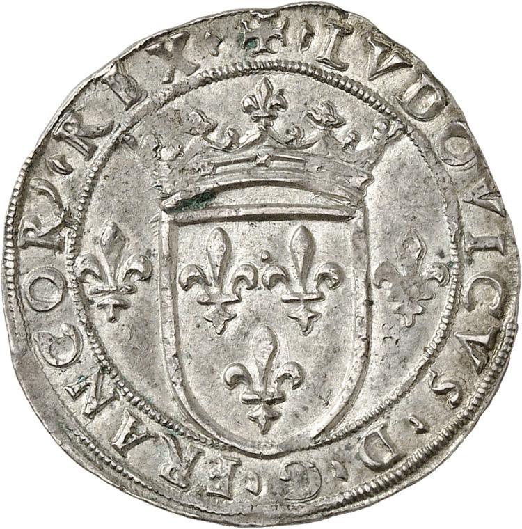 ITALIE Milan, Louis XII (1500-1512). Gros de 6 soldi.
