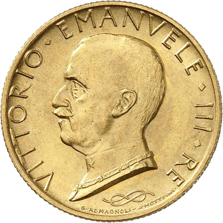ITALIE Victor Emmanuel III (1900-1946). 100 lire 1931 an IX, Turin.
