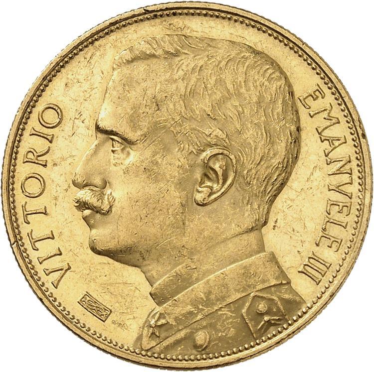 ITALIE Victor Emanuel III (1900-1946). 50 lire or 1912.