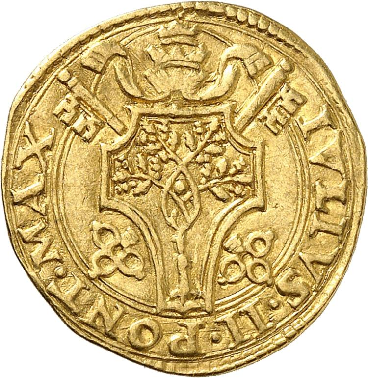 ITALIE Vatican, Jules II (1503-1513). Florin, Rome.