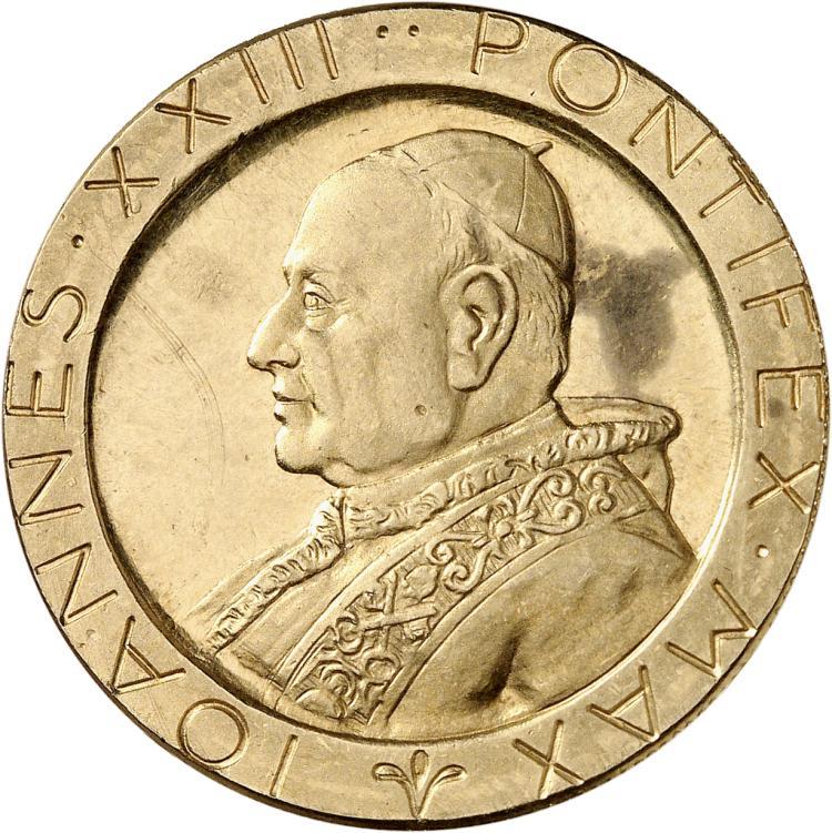 ITALIE Jean XXIII (1958-1963). Médaille en or.