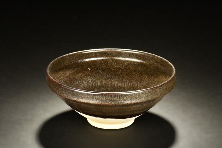 BROWN GLAZED BOWL