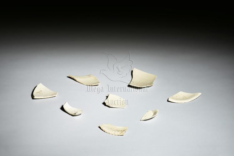 GROUP OF DING WARE CERAMIC SHARDS