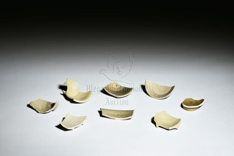 GROUP OF YAOZHOU WARE CERAMIC SHARDS
