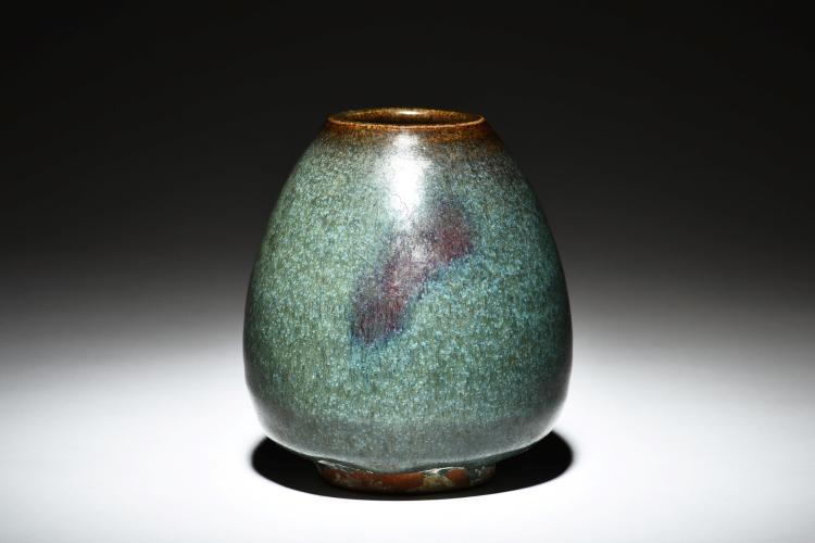 JUN WARE 'CHICKEN HEART' JAR