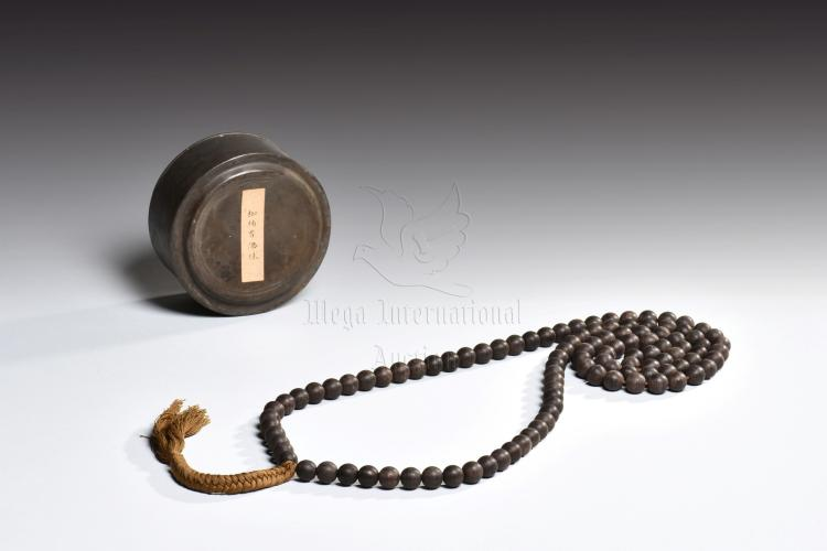 STRAND OF 108 ALOE WOOD PRAYER BEADS