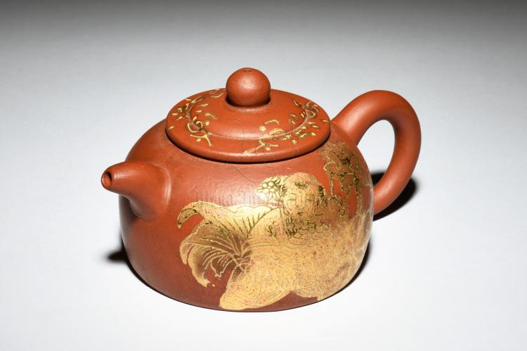YIXING ZISHA 'CHILD' TEAPOT