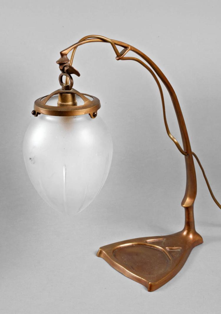 tischlampe jugendstil. Black Bedroom Furniture Sets. Home Design Ideas